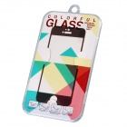 MILO 2.5D 0.33mm Electroplating Colorful Premium Tempered Glass Screen Protector for IPHONE 5 5S 5C