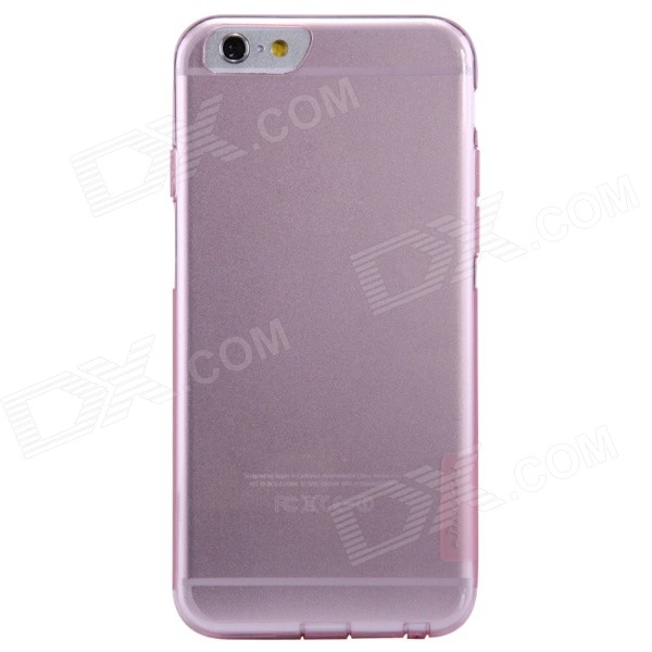 NILLKIN Ultra-thin Protective TPU Back Cover Case for 4.7 IPHONE 6 - Translucent Pink stylish ultra thin protective tpu back case cover for 4 7 iphone 6 translucent pink