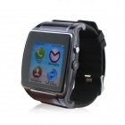 "HI Watch L18  Wearable 1.55"" Touch Screen GSM Quad-band Watch Phone w/ Bluetooth & Pedometer - Black"