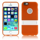 "ENKAY Protective TPU + Plastic Back Case w/ Stand for IPHONE 6 Plus 5.5"" - Orange"