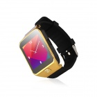 "Loogear G3 1.63"" 2G Watchphone w/ Quad-band Bluetooth, MP3, FM, Touch Screen, 8GB TF Card - Golden"