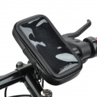 "DULISIMAI Bicycle Motorcycle Mounted Waterproof Bag for IPHONE 6 4.7"" - Black"