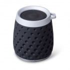 MOCREO MOSOUND Drips Waterproof Portable Wireless Bluetooth Speaker w/ Hanging Ring / TF - Black