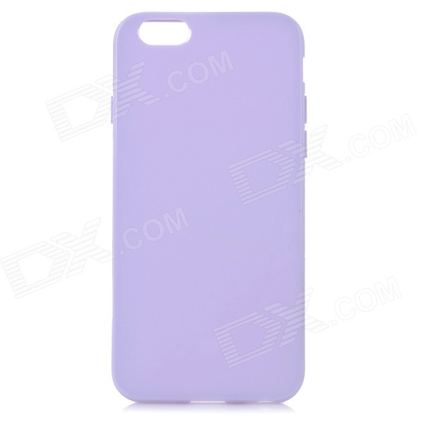 Protective Silicone Back Case Cover for IPHONE 6 - Light Purple
