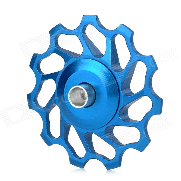 BH-014 Bike Bicycle 11T Aluminum Alloy Wheels Rear Derailleur Pulley - Blue