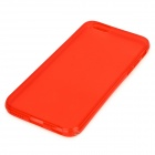 "Protective Silicone Back Case for IPHONE 6 4.7"" - Translucent Red"