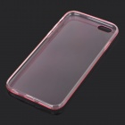 Protective Ultrathin Silicone Back Case for IPHONE6 - Translucent Pink