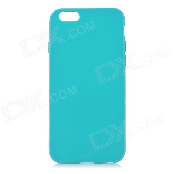 Protective Silicone Back Case Cover for IPHONE 6 - Light Blue