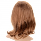 SYSH006 Fashion Tilted Frisette Short Pear Wig - Light Brown