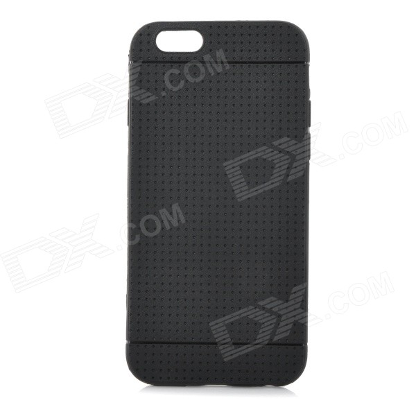 Protective TPU Case for IPHONE 6 4.7 - Black glossy jelly tpu gel case for iphone 6s 6 4 7 inch solid black