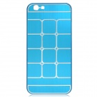 "Plaid Pattern Aluminum Alloy + Plastic Back Case for IPHONE 6 4.7"" - Blue"
