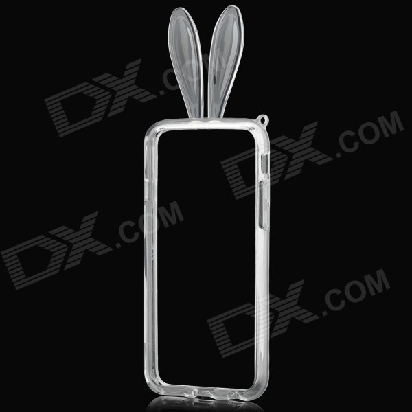 Rabbit Style Protective TPU Bumper Frame for IPHONE 6 4.7 - Transparent