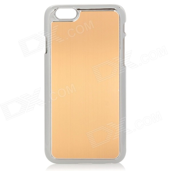 Protective Plastic + Aluminum Alloy Back Case for 4.7