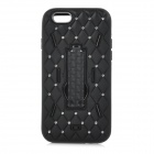 "3-in-1 Anticollision Protective Plastic + Silicone Case for IPHONE 6 4.7"" - Black"