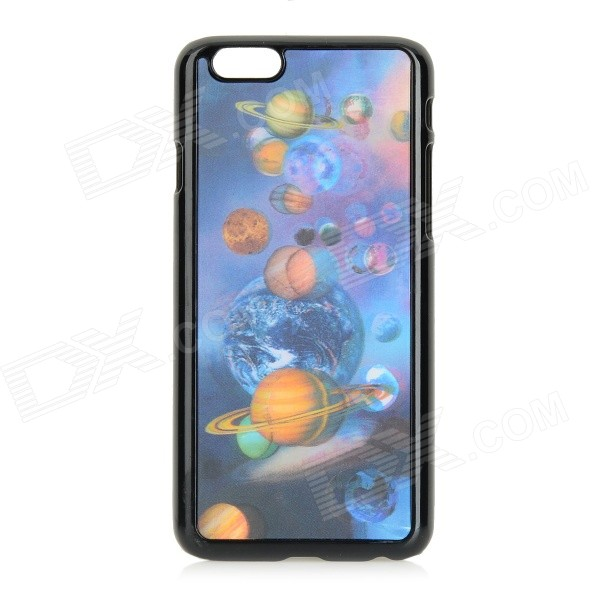 Protective 3D Celestial Bodies Patterned Plastic Back Case Cover for IPHONE 6 - Blue + Black рюкзак case logic 17 3 prevailer black prev217blk mid