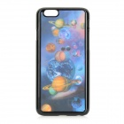 Protective 3D Celestial Bodies Patterned Plastic Back Case Cover for IPHONE 6 - Blue + Black
