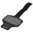 "Outdoor Sports Nylon + PVC Armband w / Velcro Band para IPHONE 6 4.7 ""- Preto"