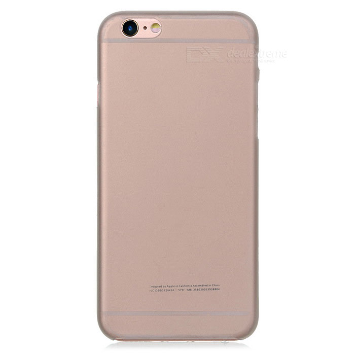 Ultra-thin Protective 0.3mm Plastic Matte Back Case Cover for IPHONE 6 - Translucent Grey