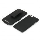 "DULISIMAI Protective PC + Plastic Case w/ Clip Holder for IPHONE 6 4.7"" - Black"