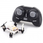LH-H1 Mini 4-CH 2.4GHz Outdoor Radio Control R/C Quadcopter w/ Gyro - White