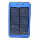 "ODEM S4-8 Solar Powered ""48000mAh"" Li-polymer Battery Charger Power Bank w/ Flashlight - Blue"