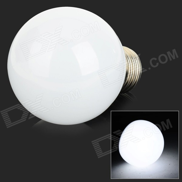 XUNRUIXING P-005 E27 5W 320lm 8350K 20-SMD 2835 LED Cool White Light Bulb - White (AC 220V)