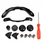 Repairing Key Button Set for XBOX 360 Wireless Controller - Black + Red