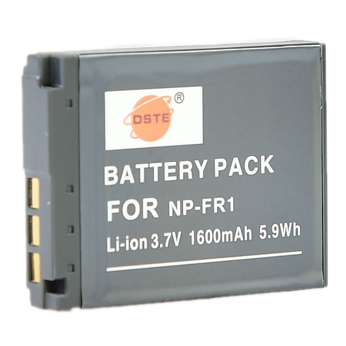 DSTE 3.7V 1600mAh NP-FR1 Battery for SONY P100 P100PP P100 Camera sony cp s15 s 15000 mah