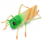 Practical Joke Lifelike Locust Shaped Toy - Green + Beige + Multi-Color