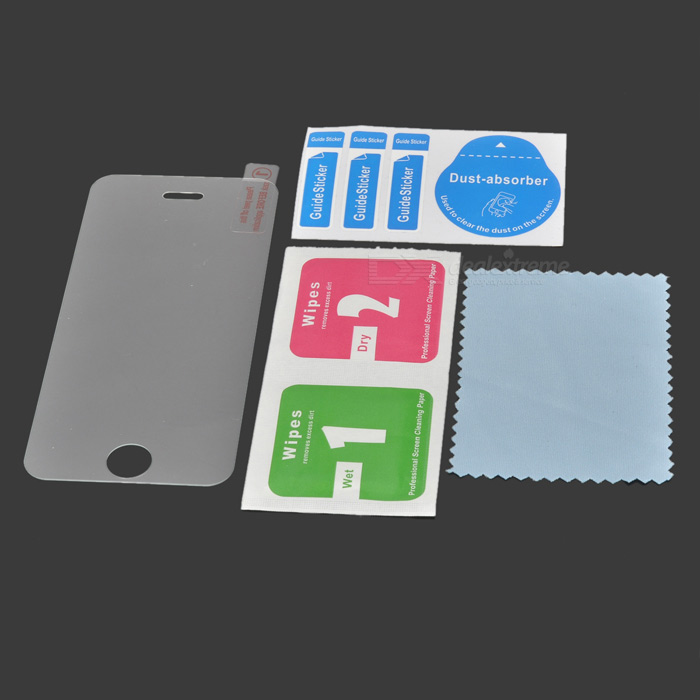 0.26mm Tempered Glass Clear Film for IPHONE 5 / 5S / 5C - Transparent
