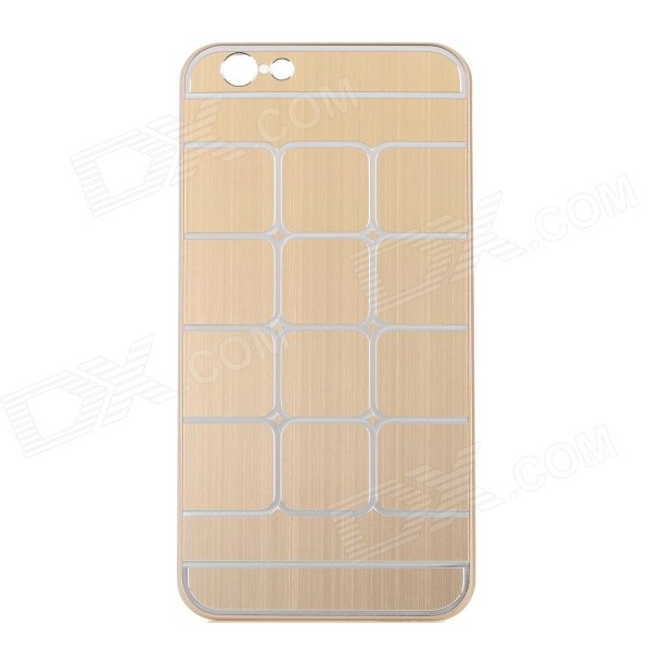 Grid Pattern Protective Aluminum Alloy + Plastic Case for IPHONE 6 4.7