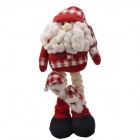 NEJE ST0006-5 Christmas Stretch Santa Claus Doll Gift - Red + White + Black