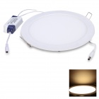 JoYda M240Y 18W 1600lm 3200K 80-SMD 2835 LED Warm White Light Ceiling Lamp - White (AC 85~260V)