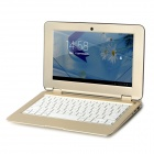 "SD1001 10,1 ""Android 4.2 Dual-Core Netbook w / Wi-Fi / Camera / 1GB RAM / 8 GB ROM / TF - Golden"