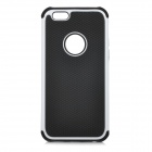 "3-in-1 Protective Plastic Case for IPHONE 6 4.7"" - Black + White"