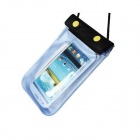 "Pandaoo PVC + ABS Waterproof Case Bag for IPHONE 6 PLUS 5.5"" - Transparent + Blue"
