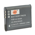 DSTE VW-VBX090 1400mAh Li-ion Battery + US Plug DC16 Charger for Panasonic HX-WA20 / HX-WA2 / HX-WA3