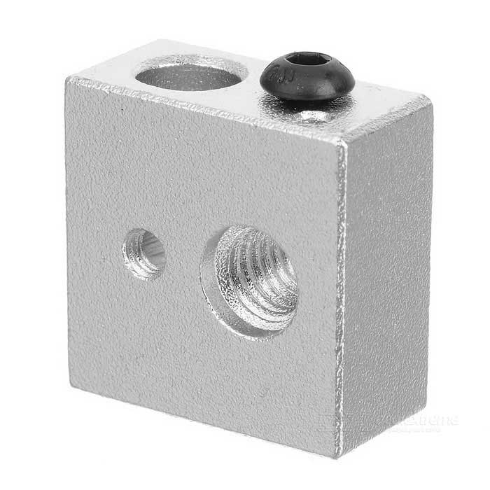 3D Printer Heating Aluminum Block for Makerbot MK7 / MK8 - Silver 3d printer accessory hot bed aluminum heating base board silver