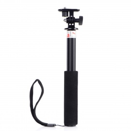 GPE Retractable 3-Section Handheld Monopod w/ Mount Adapter for Gopro Hero 4/ 2 / 3 / IPHONE