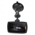 "602C 2.5"" Screen HD CMD 120° Wide-angle Car DVR Video Recorder Camera Camcorder - Black + Grey"