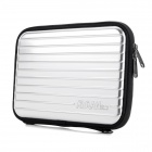 "Multi-Functional Anti-Vibration Anti-Shock 7"" Storage Bag for Tablet PC - Silver + Black"