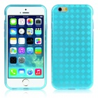 "Hat-Prince Protective TPU Case w/ Anti-dust Plugs for IPHONE 6 4.7"" - Blue"