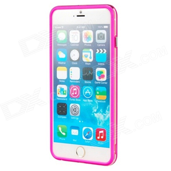 "Pandaoo Protective PC Bumper Frame for IPHONE 6 PLUS 5.5"" - Deep Pink"