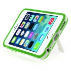 ENKAY Protective TPU Case w/ Stand for IPHONE 6 PLUS - Green
