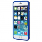 Protective Plastic Bumper Frame Case for IPHONE 6 PLUS - Blue