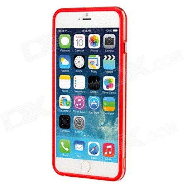 Protective Plastic Bumper Frame for IPHONE 6 PLUS - Red protective plastic bumper frame for iphone 6 plus red