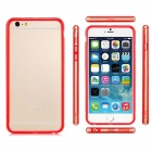 Protective Plastic Bumper Frame for IPHONE 6 PLUS - Red