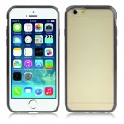 "ENKAY Protective Matte TPU Case Cover for IPHONE 6 4.7"" - Transparent + Black"