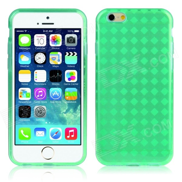 Hat-Prince Protective TPU Case w/ Anti-dust Plugs for IPHONE6 4.7 - Green - DXSilicone Cases<br>Color Green Brand Hat-Prince Quantity 1 Piece Material TPU Shade Of Color Green Compatible Models IPHONE 6 Design With Anti Dust Plug Style Back Cases Packing List 1 x Back Case<br>