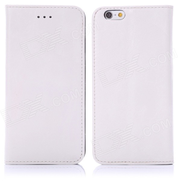 "Enkay protection PU Housse en cuir w / Stand pour iPhone 6 4.7 ""- blanc"